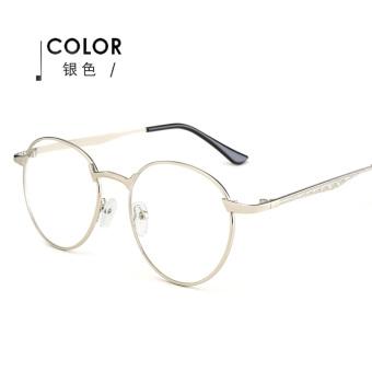 Korea Fashion Style Emas Kaki Pria Dan Wanita Bingkai Kacamata Frame  Kacamata ba658b78f0