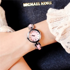Korean Fashion Diamond Watch Students Waterproof Quartz Watch Fashion Bracelet Watch Chain Simple Lady Watch - intl