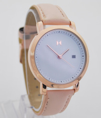 Lady Fashion Simple Strap Watch (RoseGold) - intl