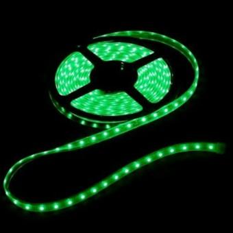 lampu led meteran 5 meter mobil hijau / strip led hijau / lampu led steling hijau /  lampu hias hijau