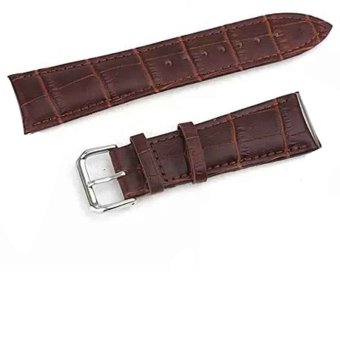 Leather Watch Wrist Strap For Apple Watch iwatch (Brown)