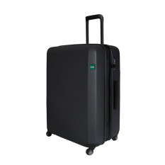 Lojel Rando Zip Expand Koper Hard Case Medium/26 Inch [Black]
