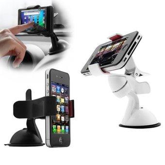 Gambar produk Aksesoris Mobil Lukiacc Car Holder Universal 360 Rotating for Mobile Phone .