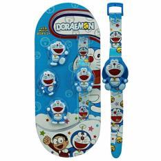 Mao Flip Lid Digital Watch-Doraemon
