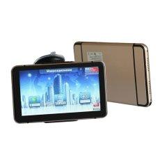 Mekago 7 Inch Car / Truck Wince 6.0 GPS Navigation With 8GBInternal + Bluetooth + AV-IN + FM, 2015 Maps (Gold) - Intl