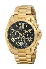 Michael Kors Women's Bradshaw Gold-Tone Watch MK5739 Gold/Black