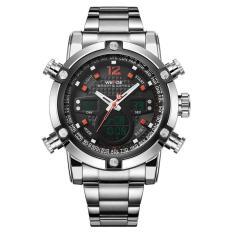 Military Watch Men 's Smart Waterproof Watch Special Luminous- Red - intl