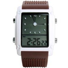 MiniCar SKMEI Student Electronic Vintage Fashion Sport Watches (Brown)