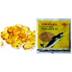 minyak ikan hewan repack 100 capsule