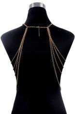 Multi Layer Women Jewelry Body Chain Necklaces&Pendants Tassel Long Necklace Punk Style Elegant Statement Jewelry (Intl)