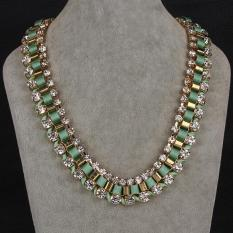 N054-A Fashion Necklaces For Women Fashion Big Star Metal Necklaces (Intl)
