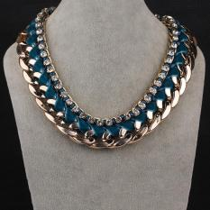 N056-L Fashion Necklaces For Women Fashion Big Star Metal Necklaces (Intl)