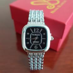 Nana Blanche Calandre Jam Tangan Wanita - 7178 Silver