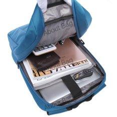 Navy Club Tas Ransel Laptop Tahan Air 5883 Backpack Up to 15 inch - Biru