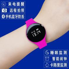 NEW CONCEPT laki-laki ultra-tipis wanita kebugaran menonton elektronik jam tangan