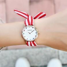New fashion bow simple watch waterproof watch strap watch - intl