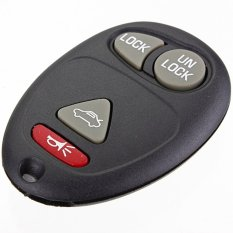 New Replacement Remote Keyless Entry Key Fob Alarm Transmitter For Buick Pontiac (Intl)