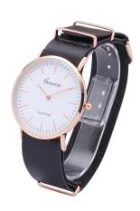 Geneva 3170 New Leather Vintage Watches Women Dress Quartz Wristwatch (Gray) (Intl)