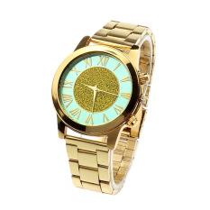 New Unisex Watches Quartz Trendy Wrist Watch Stainless Steel Watches Green