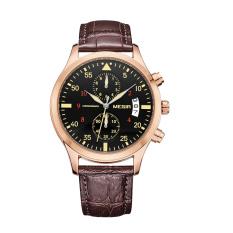 Nonvoful MEGIR Men Male Watch Waterproof Sports Watch Multifunction Watch 2021G (Brown)