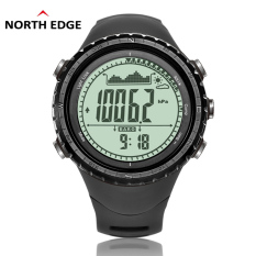 NorthEdge Men's Sports Digital-watch with Altimeter Barometer Compass Thermometer Weather Forecast Pedometer Men Digital Watch For Outdoor Climbing Hiking Running Swimming Cycling Wristwatch (Intl)