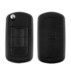OEM Car Discovery 3 Button 3BT Remote Key Shell Case Fob For LR3 Land Rover Black (Intl)