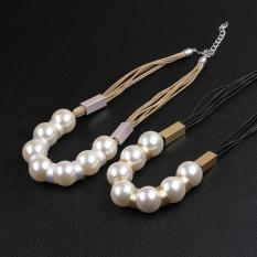 OEM N063-BChristmas Jewelry Fashion Pearl Necklaces For Women Fashion Big Star Metal Necklaces NO.063-B - Intl