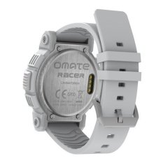 Omate Racer White Smart Watch For Apple / Andriod Bluetooth Sports (Intl)
