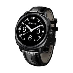 Omate Roma Black Smart Watch For Apple / Andriod Bluetooth Sports (Intl)