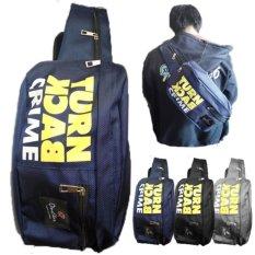 One Star waist bag Slempang Turn Back Crime - Blue
