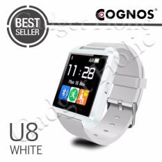 Onix Cognos U Watch U8 Smartwatch - Jam Tangan Pria - Putih - Rubber