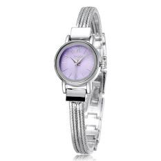 2015 Brand Watch Women Bracelet Watches Dress Fashion Casual Watch Quartz Luxury Wristwatch (Purple with Box) (Intl)