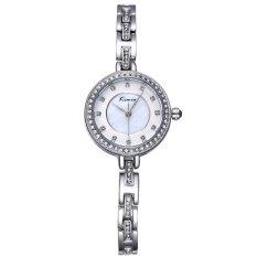 Louiwill KIMIO Rhinestone Crystal Rose Gold Women's Bracelet Watches Luxury Brand Lady Fashion Dress Watch Relogios Feminino 2016 New - Intl