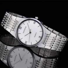 Ooplm West Rome's Chi Westchi Leisure Business Scale Quartz Watch 6111G Steel Bar Nail (1 X Women Watch)
