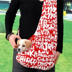 Oxford Cloth Sling Pet Dog Puppy Cat Carrier Tote Single Shoulder Bag(Size S) - intl