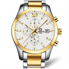 Oxoqo Carnival Hot Fully-automatic Mechanical Brand Mens Watches Full Steel Fashion Waterproof Multifunctional Male Army Watch Relogio