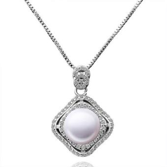 P024 Beautiful Pearl Pendants For Girl Friend Best Gift - Intl