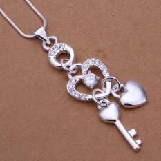 P324 Hot Sale Nickel Lead Free Silver Plated Pendant For Gift - Intl