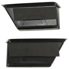 Pair Black Front Door Armrest Storage Box Containers For Benz C-Class W204 08-13 - Intl