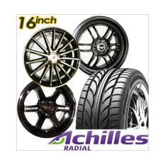 Paket Cicilan 4 Velg Racing 16 inch + 4 Ban Achilles - GRATIS Pasang / Kirim JABODETABEK