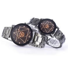 PAlight 2PCS Men / Women Couple Watches Wrist Quartz Retro Wristwatch
