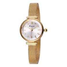 Perfect KIMIO New Fashion Watch Women Dress Watches Rose Gold Full Steel Analog Quartz Ladies Fashion Casual Wrist Watches 2016