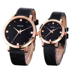 Perfect Lisa Genuine Couple Watches Business Purple Quartz Watch Belt Simple Solid Pointer Male And Female Couple Watches 1028 - Intl