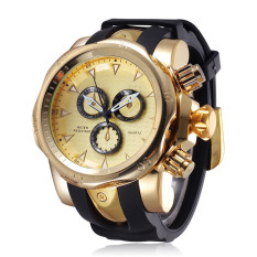 Perfect Speed Sold Outside The Warehouse When The Monkey Tonghai Selling Authentic Fashion Men's Watch Three Disc Sports Watch Male Decoration - Intl