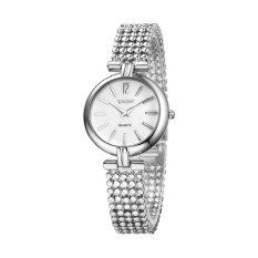 Perfect YAQIN Yaqin Female Watch 6210 Fashion Watch Female Models Bracelet Watch Fashion Ladies Watches (Silver) - Intl