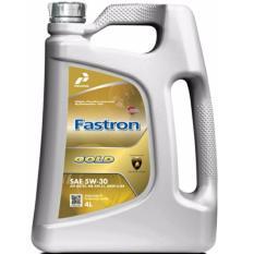 Pertamina Fastron Gold 5W-30 with nano guard MB 229.5 dexos2 kemasan Galon 4lt