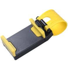 Phone Holder HP Pada Setir Mobil, Motor Dan Sepeda - Kuning