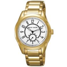 Pierre Cardin Jam Tangan Pria Pierre Cardin PC104241F07 Comte Gold Stainless Steel Dial White