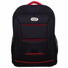 Polo Black Tiger Laptop Raincover Backpack / Tas Ransel Laptop Pria