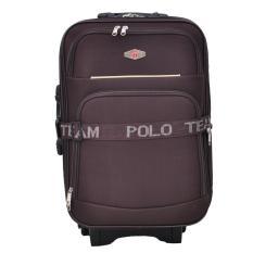Polo Team Tas Koper 091 - 20 inch Gratis Pengiriman JABODETABEK - Cokelat